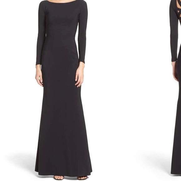 63db42d7 Chiara Boni Dresses | La Petite Robe Black Gown | Poshmark